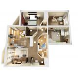 Снять 4 комнатную квартиру